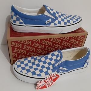 Vans Classic Slip-On Checkerboard Mens Shoes